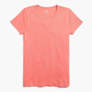 J. CREW Classic Cotton Studio Tee Tropical Guava